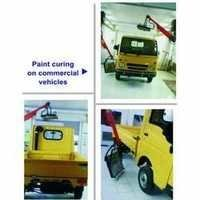 Commercial Vehicle Paint Curing for Service Stations