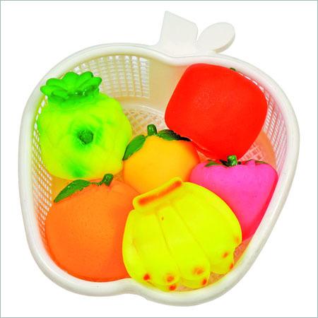 Basket Fruit Toy Set
