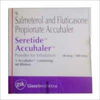 Salmeterol Fluticasone Inhalers - Accuhalers