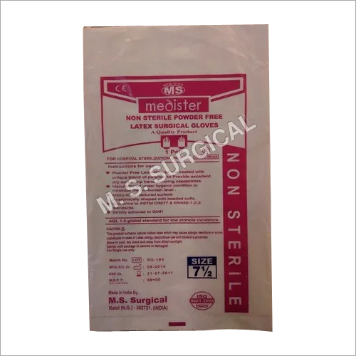 Latex Powdered Free Non Sterile Gloves