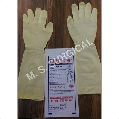 Elbow Length Powdered Free Non Sterile Gloves