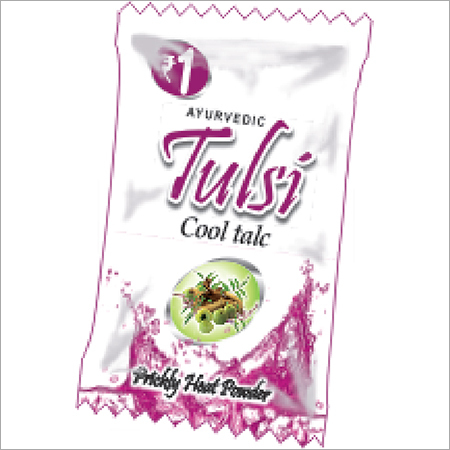 Ayurvedic Tulsi Cool Talc in Pouch