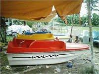 4 Seater Padle Boat