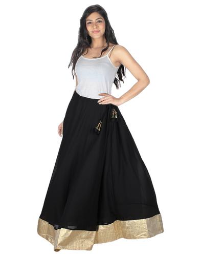 Blk Ladies Skirt