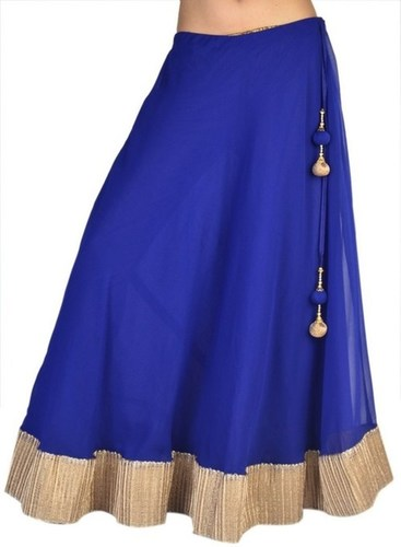 Blue Ladies Skirt