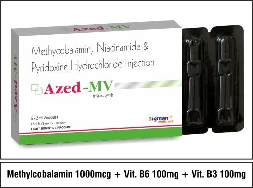 Mecobalamin 1000 mcg B6 100 Niacinamide 100