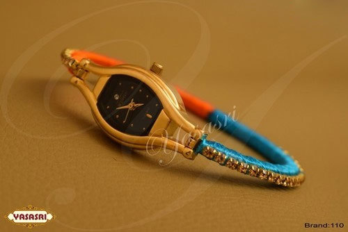 Multi Color Threaded Watch