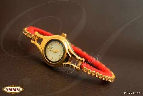 Red Threaded Watch