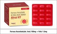 Ferrous Ascorbate  100mg + Folic 1.5mg