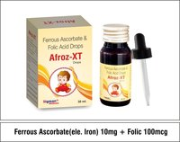 Ferrous Ascorbate 10mg + Folic Acid 100mg