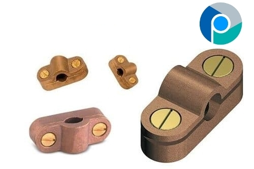Brass Heavy Duty Cast Cable Saddle