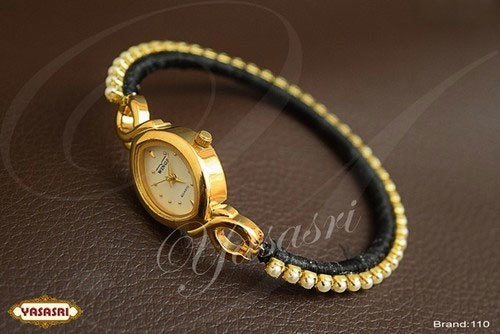 Mothi Stone Designed Threaded Watch