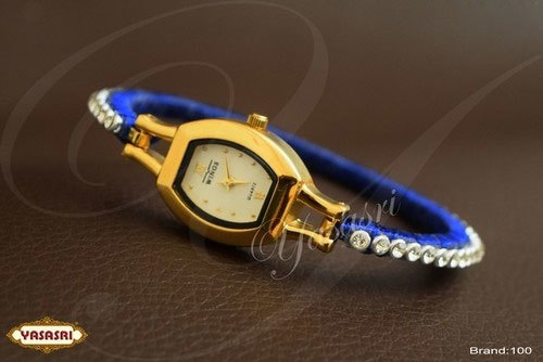 Blue Threaded Watch