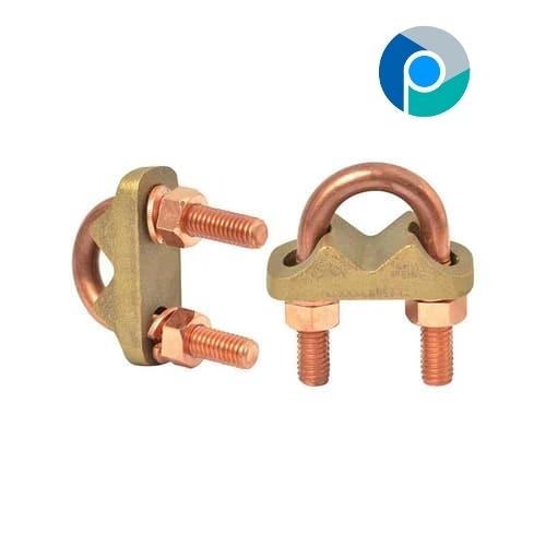 Brass U Bolt Clamp Type E