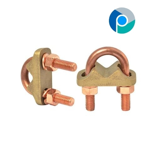 Brass U Bolt Clamp Type E