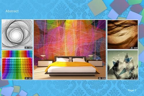 customised design wallpaper