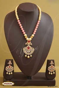 Pink Color Crystal Mala