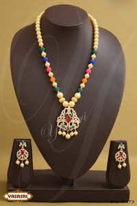Multi Color Crystal Fancy Mala