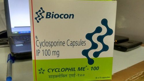 Cyclosporine Capsules IP 100mg