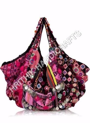 Pink Banjara Bag