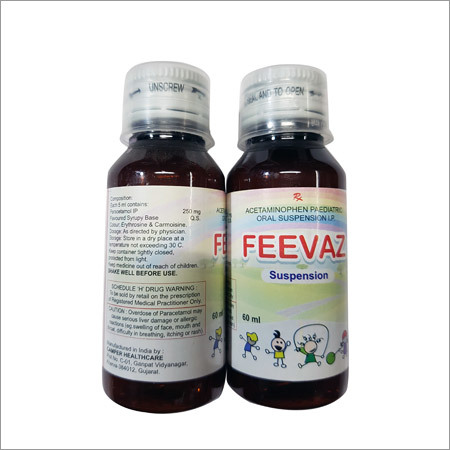 Acetaminophen Paediatric Oral Suspension
