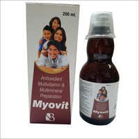 Multivitamin Multimineral Antioxidant Syrup