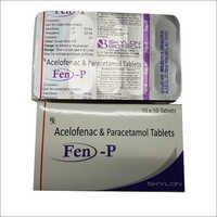Acelofenac Paracetamol Tablets