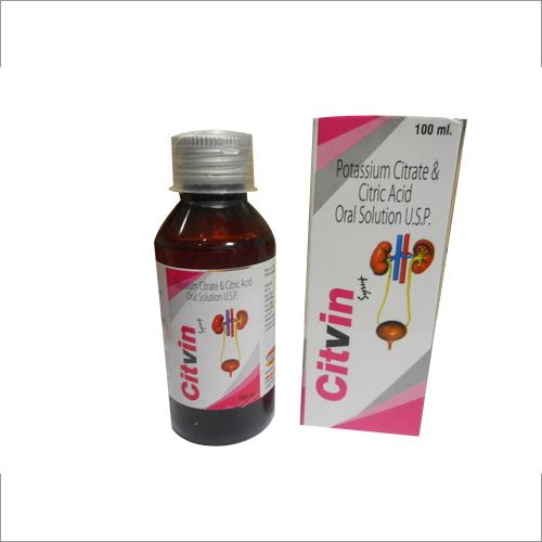 Potassiun Citrate & Citric Acid Oral Soluction USP