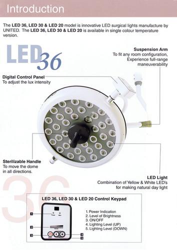 LED OT light 36