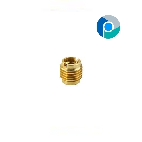 Brass Slotted Inserts For Pipe