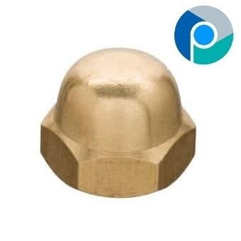 Brass Dome Nut