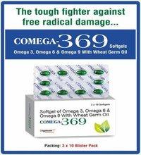 Omega 3 + Omega 6 + Omega 9