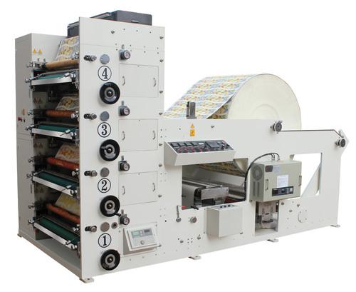 Cup Paper Four Color Flexo Printing Machine
