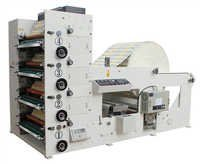 Cup Paper Four Color Flexo Printing Machine
