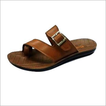 Brown PU Slipper