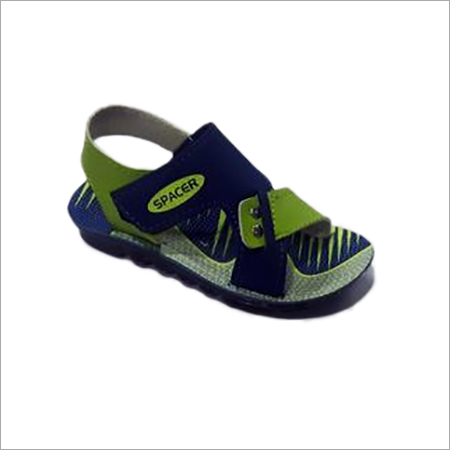 Blue Kids PU Sandal