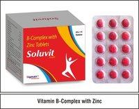 Thiamine Mononitrate + Vitamin B6 + Vitamin 12 + Folic + Riboflavin + Calcium D-Pantothenate + Niacinamide + Zinc