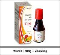 Vitamin C  50mg    +  Elemental Zinc   5mg
