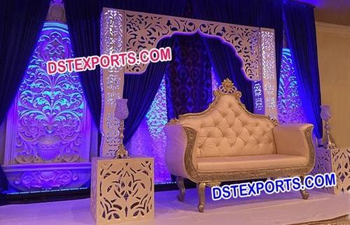 Latest Bollywood Style Wedding Stage