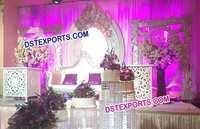 Stylish Canadian Wedding Stage Decorations
