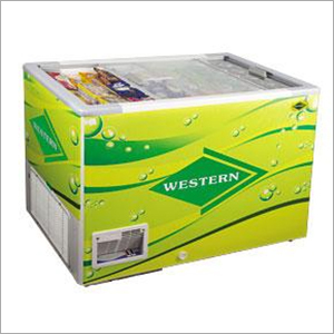 Glass Top Freezer - 332 Ltrs.
