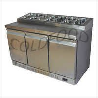 3 DOOR MAKE LINE CHILLER