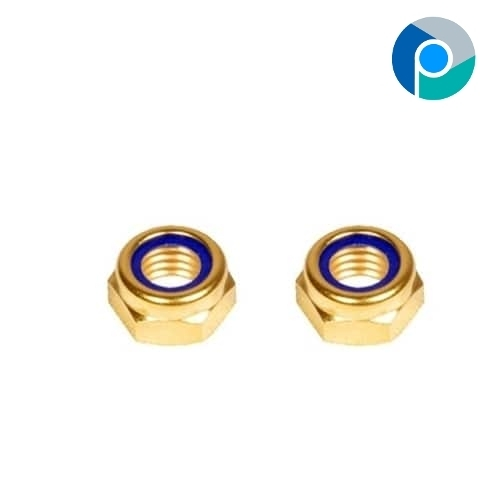 Brass Nylon Insert Hexagon Nut