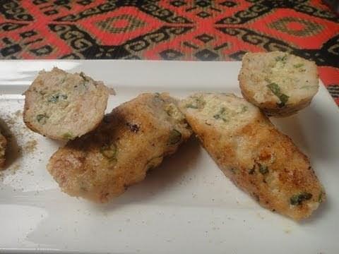 Khas Khas Chicken Seekh Kabab