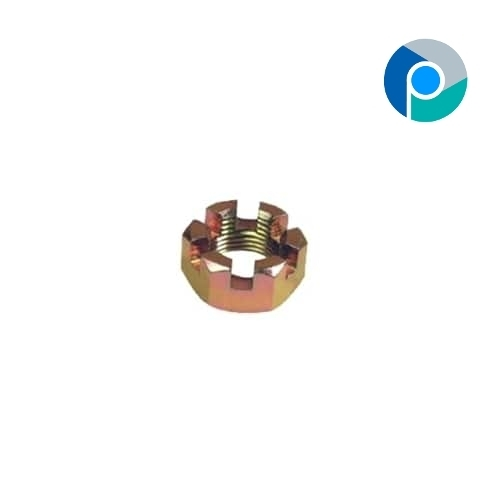 Brass Slotted Hex Nuts