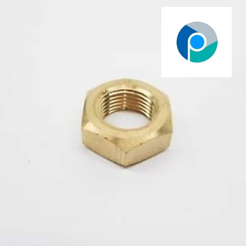 Hex Jam Nut Brass