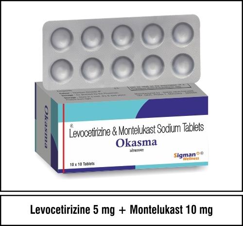Levocetirizine + Monetelukast