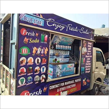 Mobile Van Soda Machine TATA  Ace