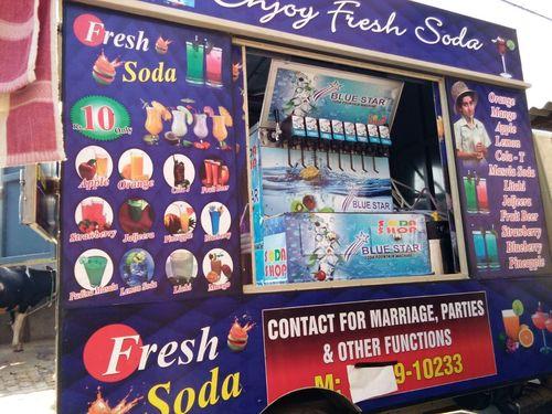 6+2 Mobile Van Soda Machine