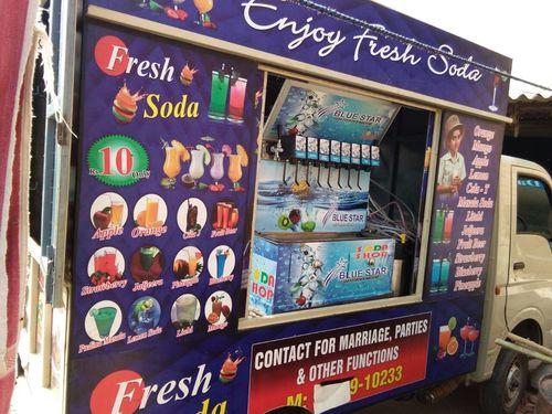 Mobile Van Soda Machine 12 In 1
